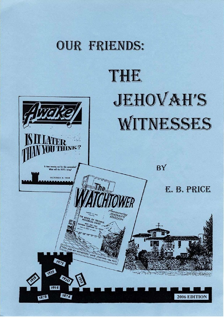 an analysis of the jehovahs witnesses This belief bulletin presents basic jehovah's witnesses' history and doctrines and provides a biblical analysis and response history in 1870, charles taze russell began an independent bible study, focusing on the second coming of christ and biblical chronology.