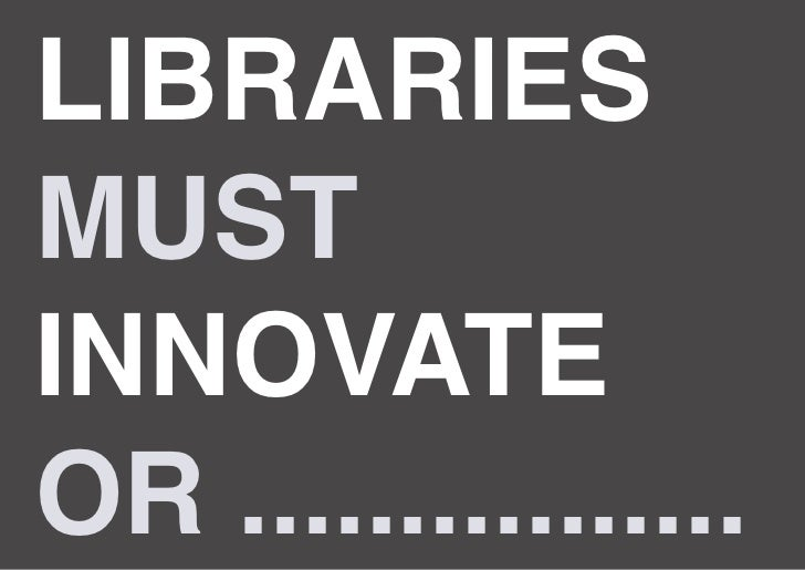 Library Innovation Game