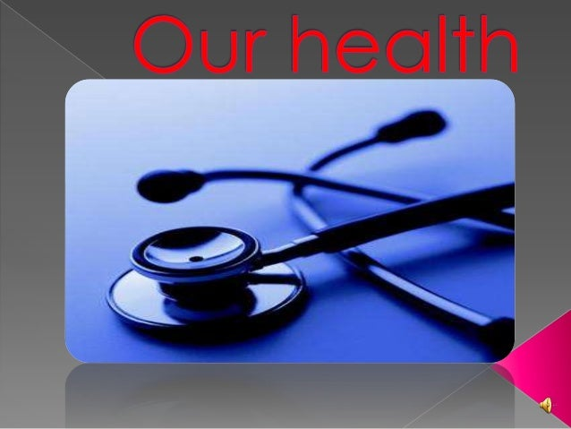  Health is a state of physical and mentalwell-being when we are healthy we fell well. Illness is the opposite of health,...