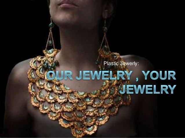 Our jewelry , your jewelry advertisment 1º Bachillerato