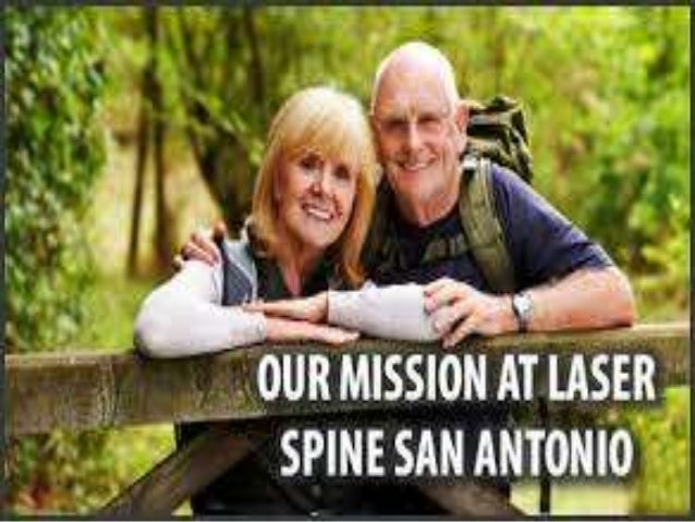 Our mission at laser spine san antonio