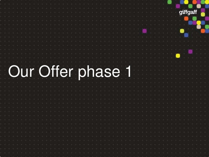 Our Offerphase 1<br />