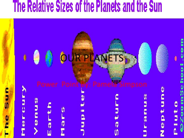 Our Planets Pamela