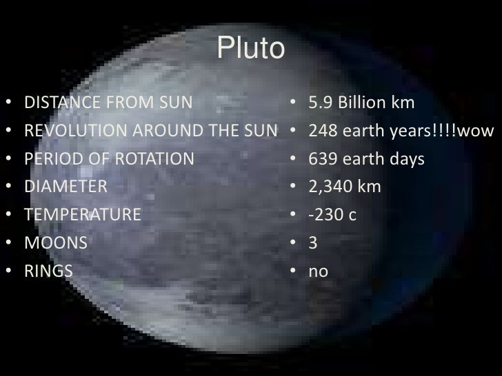 pluto distance from planet earth - photo #21