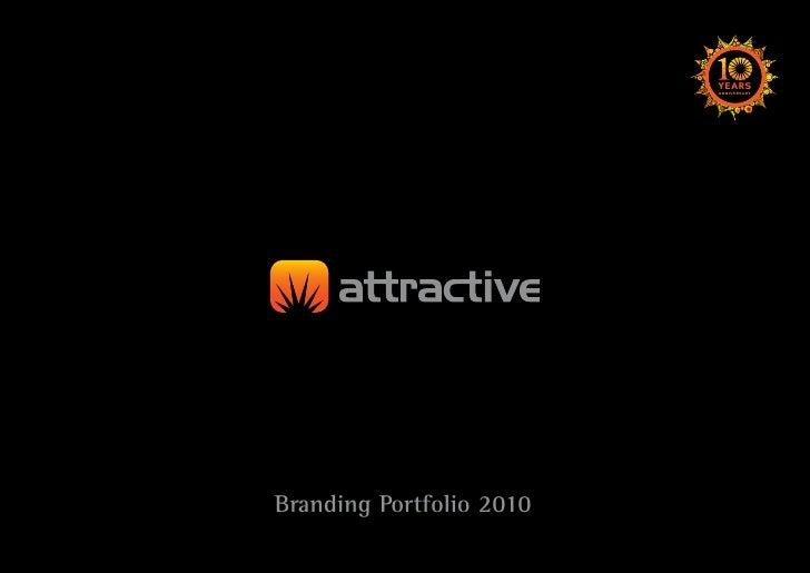 Attractive branding Portfolio2010