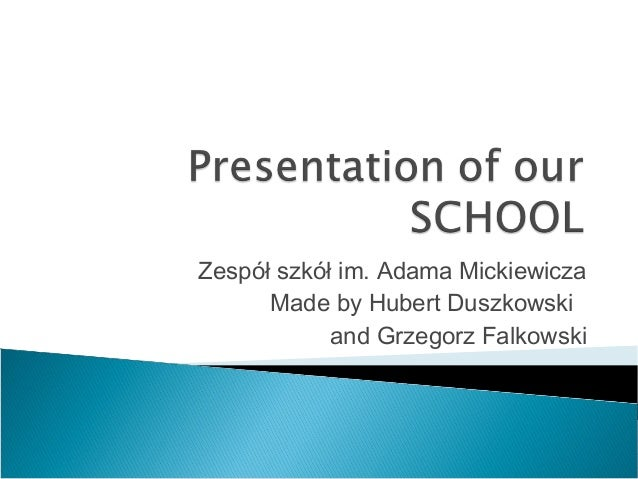 Our school presentation2