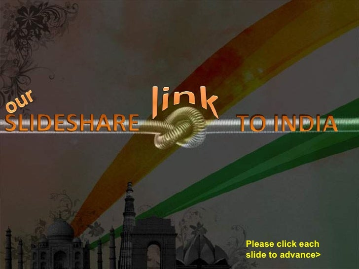 Our Slideshare Link To India