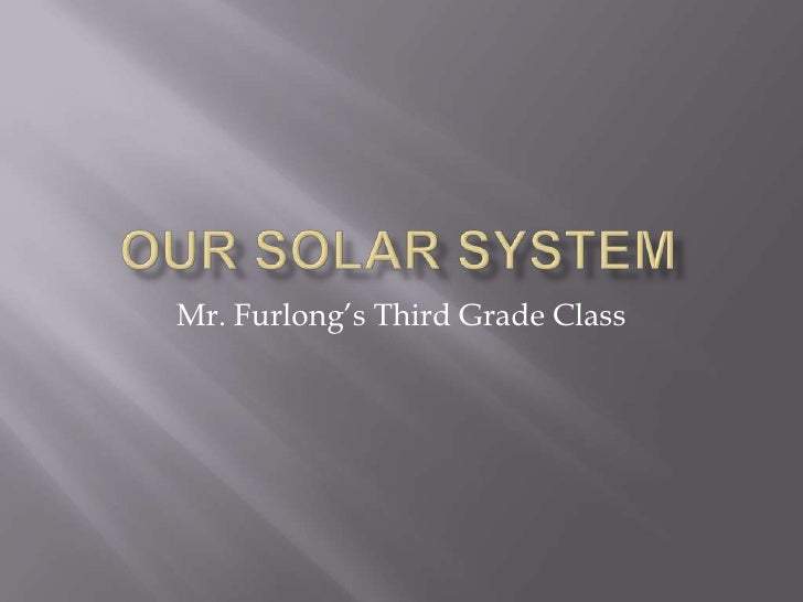 Our Solar System Report
