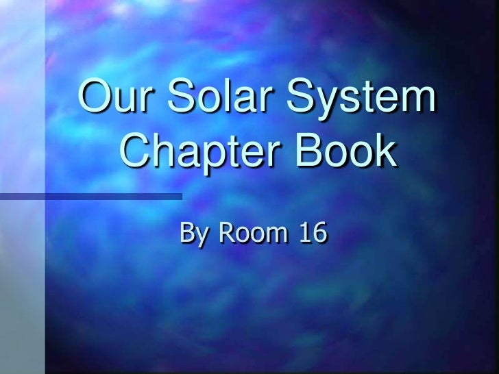 Our solar system room16
