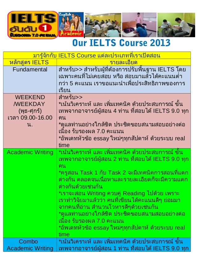 Our toeic course 2013 by TCIAP