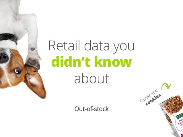 Retail data you didn't know about — Out-of-Stock