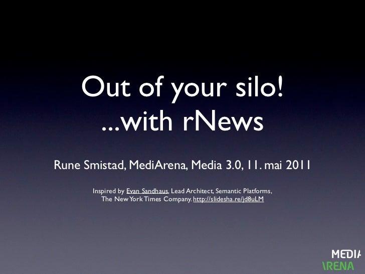 rNews - towards structured data websites