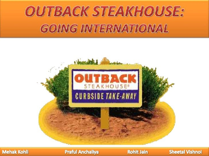 Outback Steakhouse: Going International