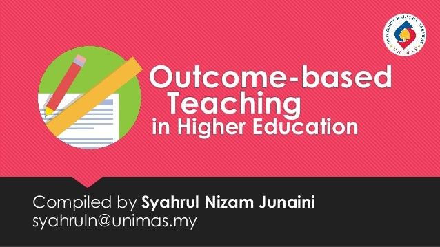 Disadvantages of Outcome Based Education