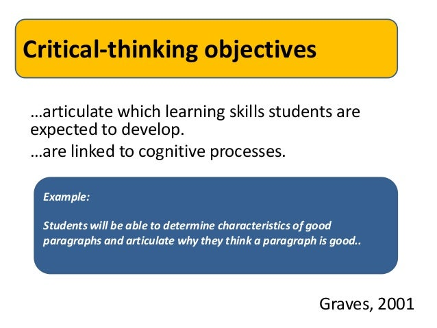 critical thinking in teaching language Critical thinking is a unifying goal of modern education while past research has mostly examined the efficacy of a single instructional approach to teaching critical thinking, recent literature has begun discussing mixed teaching approaches.