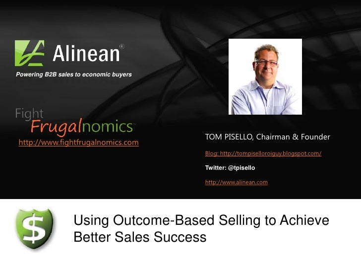 Powering B2B sales to economic buyers                                        TOM PISELLO, Chairman & Founderhttp://www.fig...