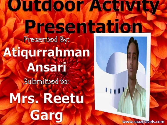 Outdoor activity By Atiqurrahman