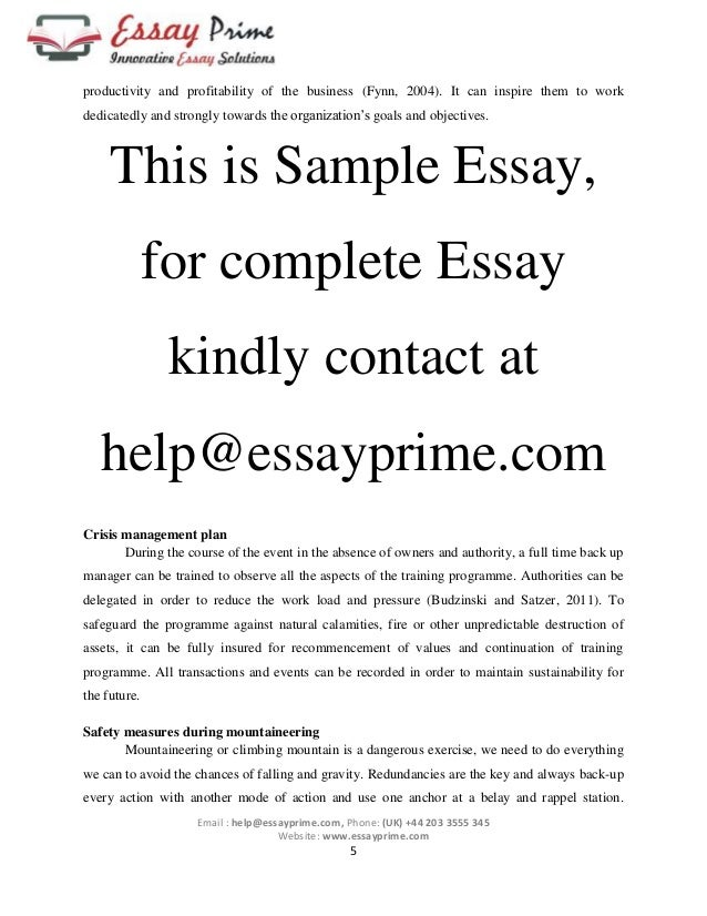 sport essay example Free essay: sport and exercise psychology is a mandatory aspect of the sport science discipline this discipline contributes to the various professional.