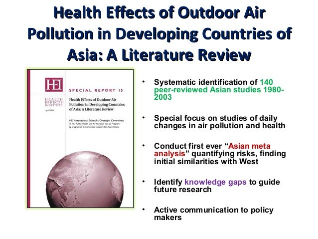 thesis on air pollution Air pollution is a horrible thing because people are polluting the environment, we can stop this by.
