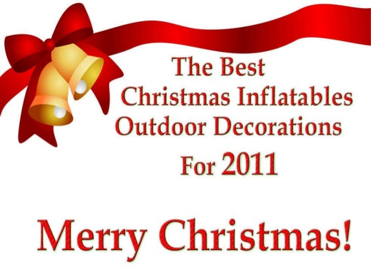 Christmas Inflatables Outdoor