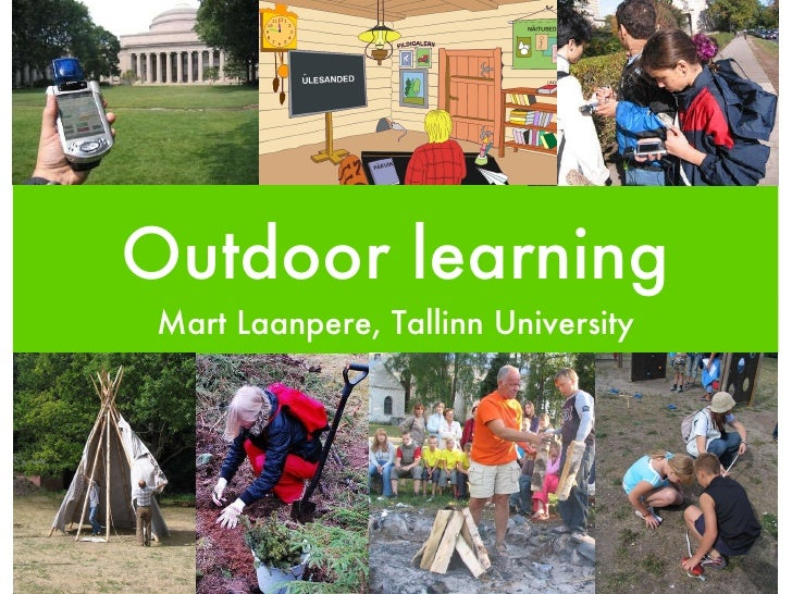 Outdoor Learning and ICT