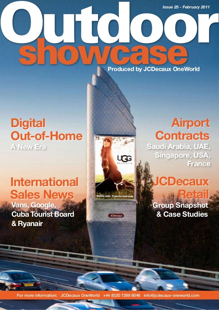 Outdoor                                                                     Issue 25 - February 2011showcase              ...
