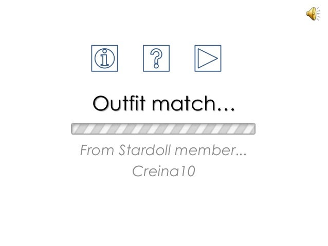 Outfit match… From Stardoll member... Creina10