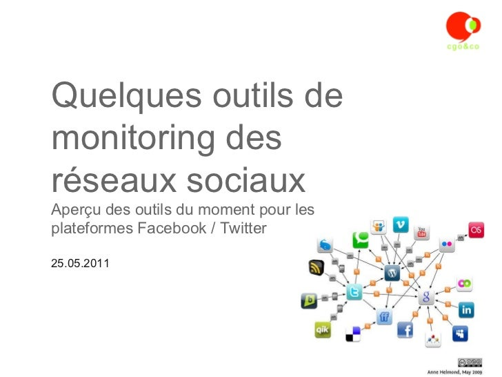 Quelques outils monitoring social media