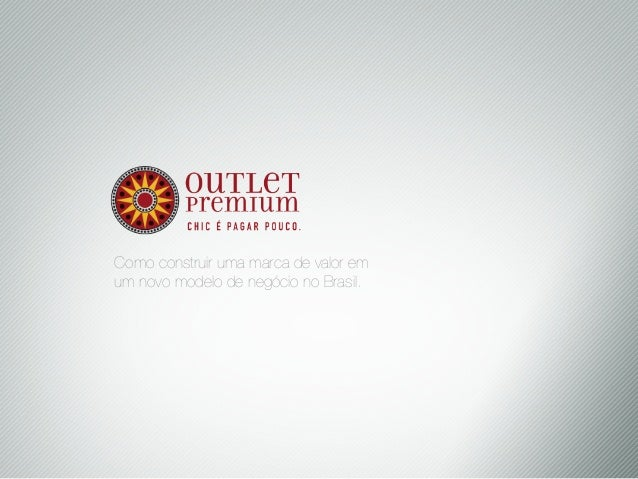 Outlet Premium - Digital Strategy