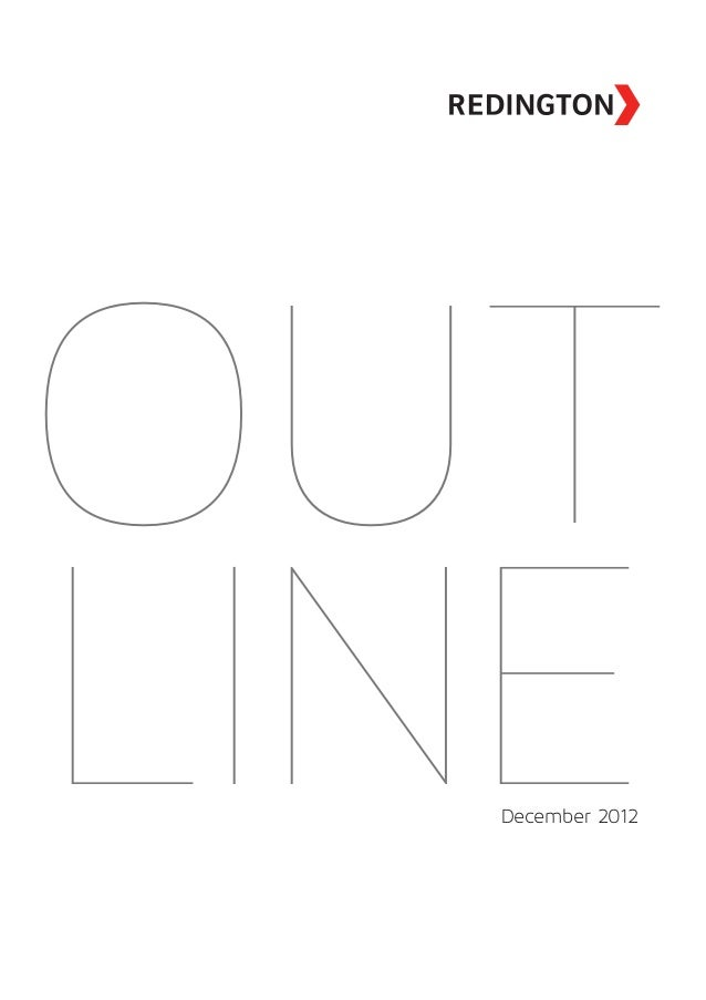 Outline 2012