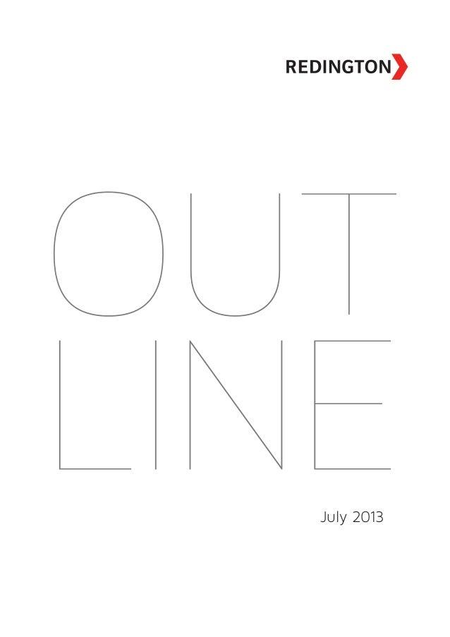 Outline July 2013