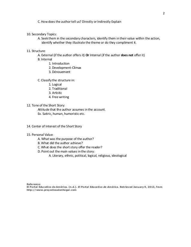 Example Essay Outline
