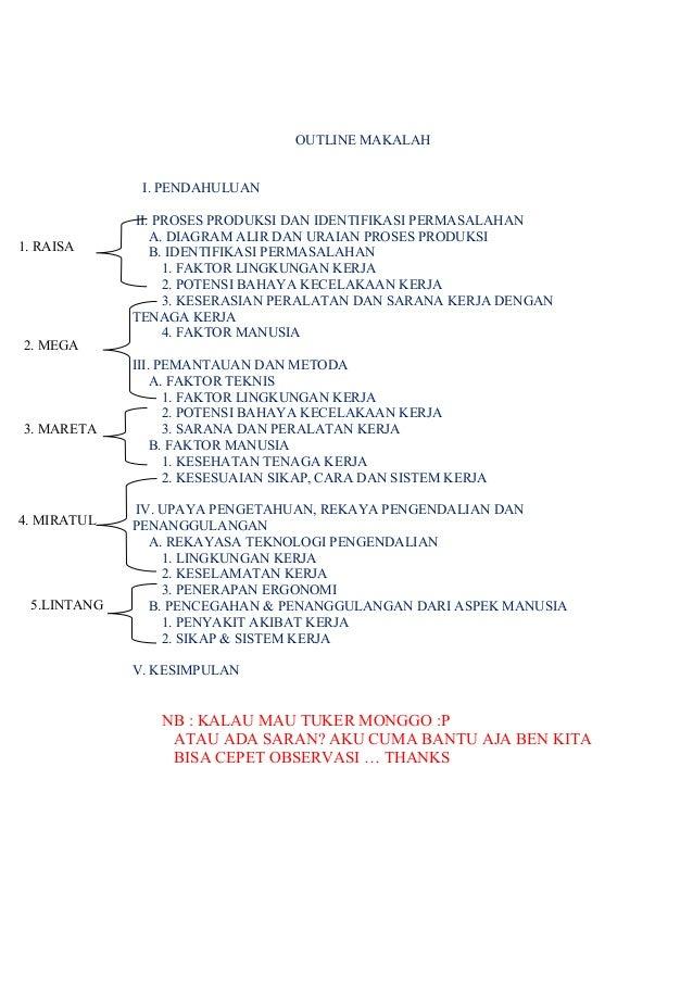 Outline makalah