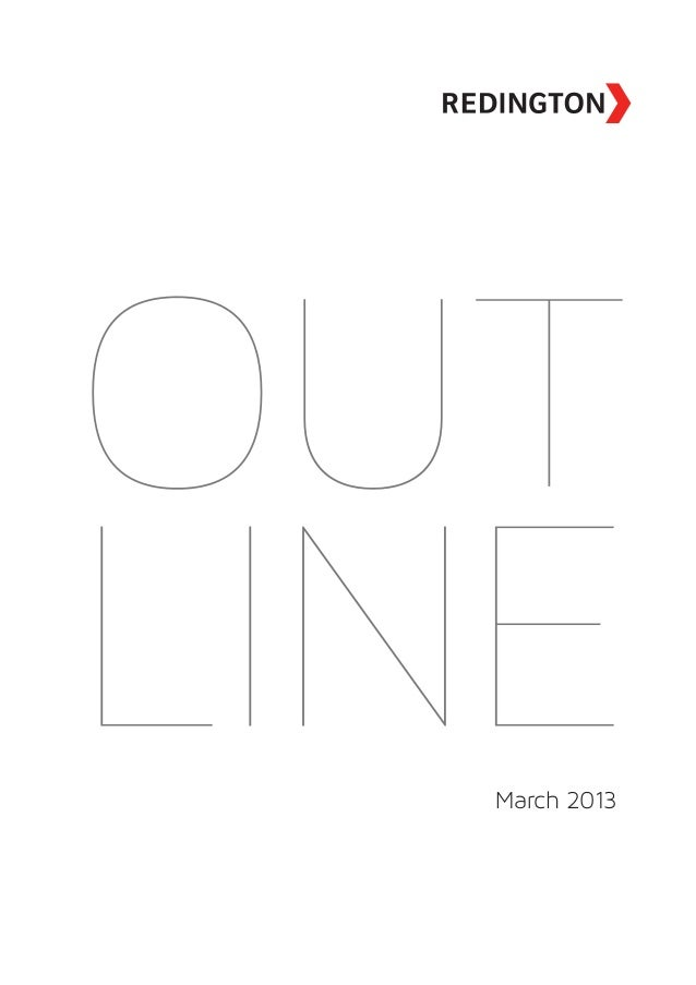 Outline 2013