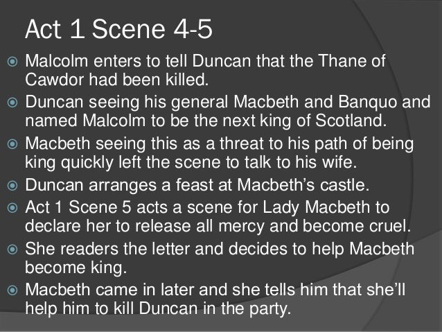 macbeth act 1 scene 5 analysis essay Home → no fear shakespeare → macbeth → act 1, scene 5 act 1, scene 5 the 25 worst ways to start your college essay quiz.