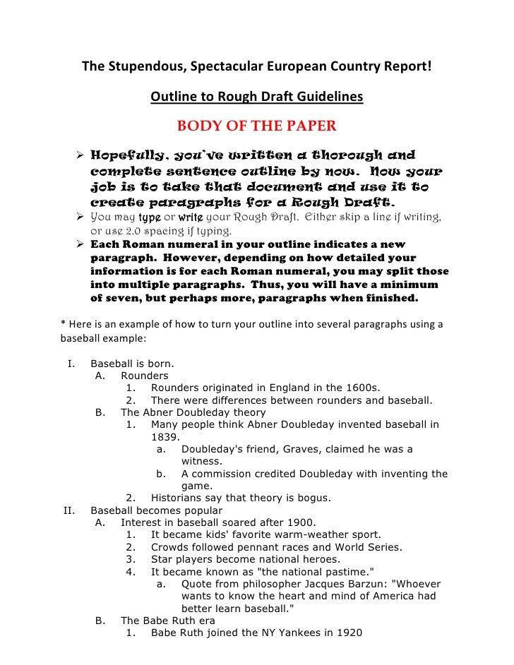 Rough Draft For Argumentative Essay Topics img-1