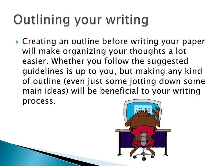 writing an outline for an essay How to improve essay writing skills if you've been told time and time again that you express great ideas in your essay writing but your writing needs polishing, you.