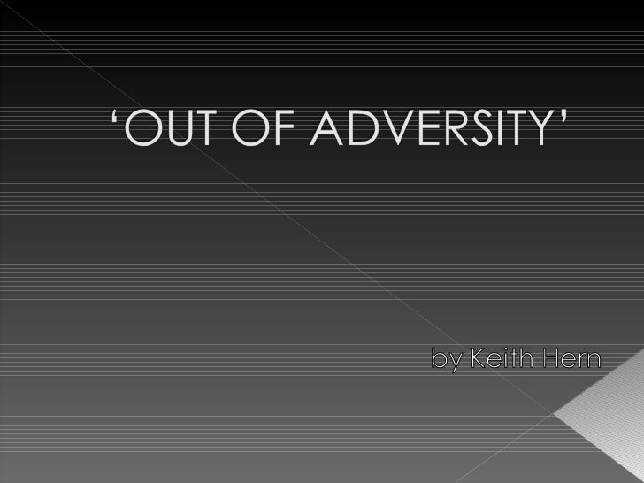 Out of adversity - Taking on Throat Cancer