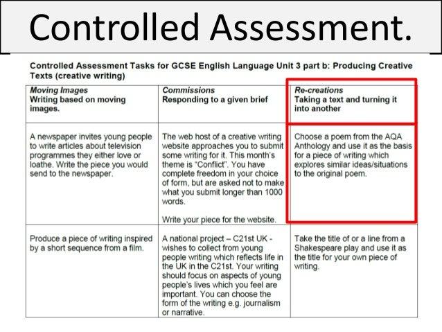 Creative writing scheme of work (AQA English Language Paper 1 Section B)