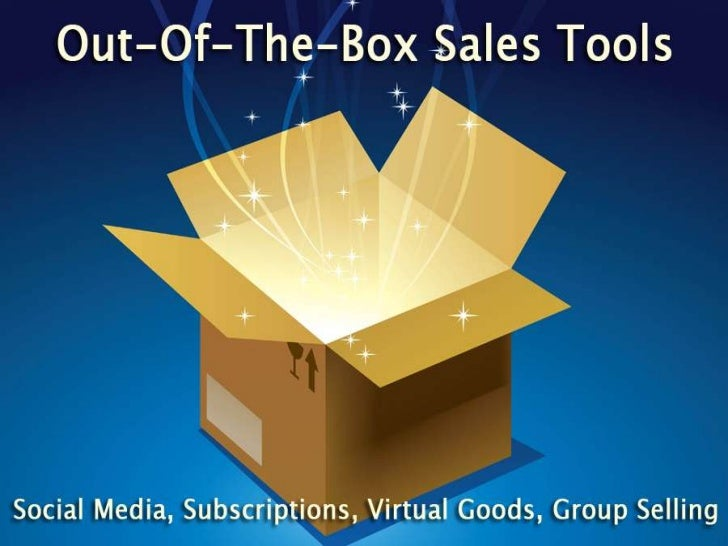 Out-of-the-Box Sales Tools for Online Retailing: From Social Shopping to Virtual Goods to Freemium