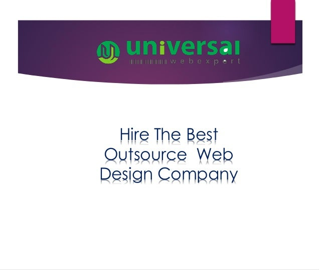 The best outsource web design company in usa for Design company usa