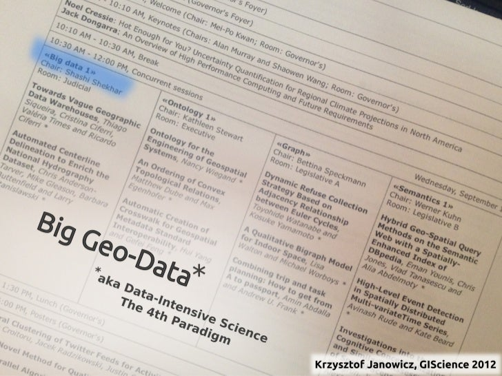 Big Geo Data