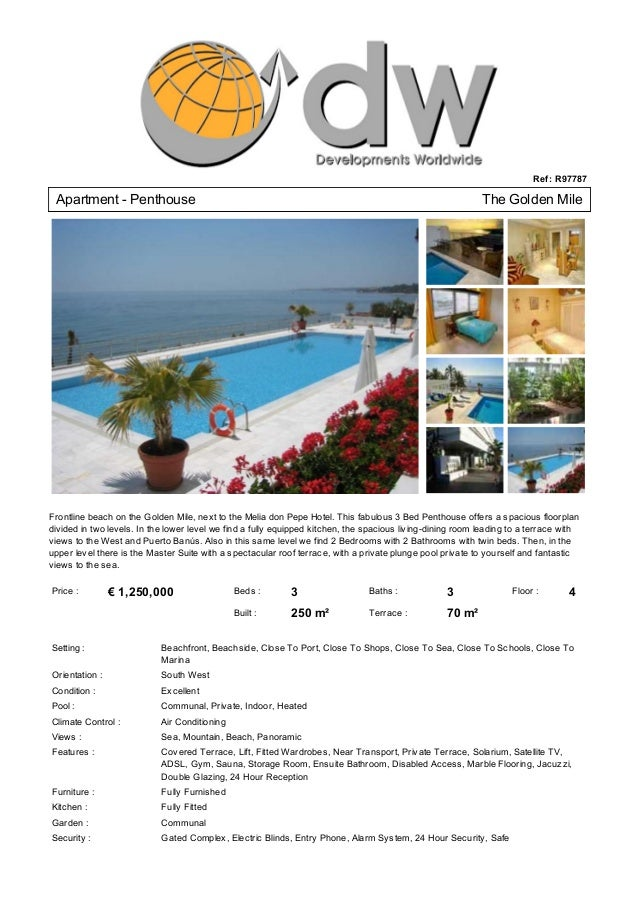 Luxury Apartment For Sale New Golden Mile Marbella