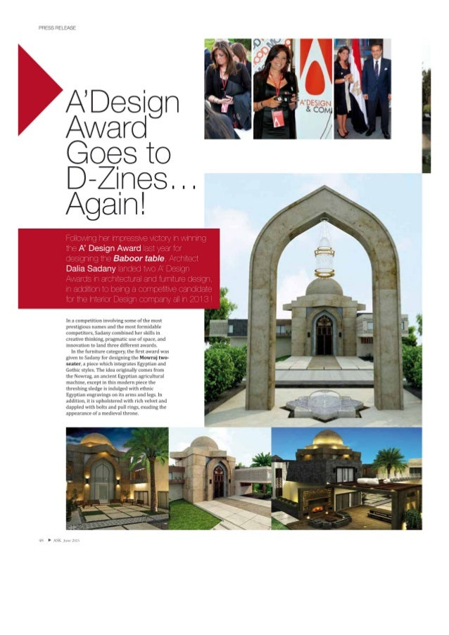 A' Design goes to Dezines … Again