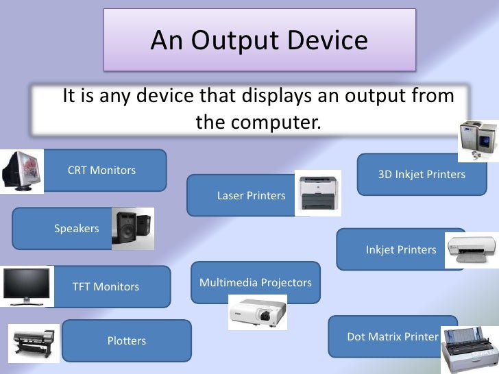 computer input and output The terms input and output are used both as: verbs to describe the process of entering /displaying the data nouns referring to the data itself entered input devices are necessary to convert information or data in to a form which can be understood by the computer a good input device should provide.