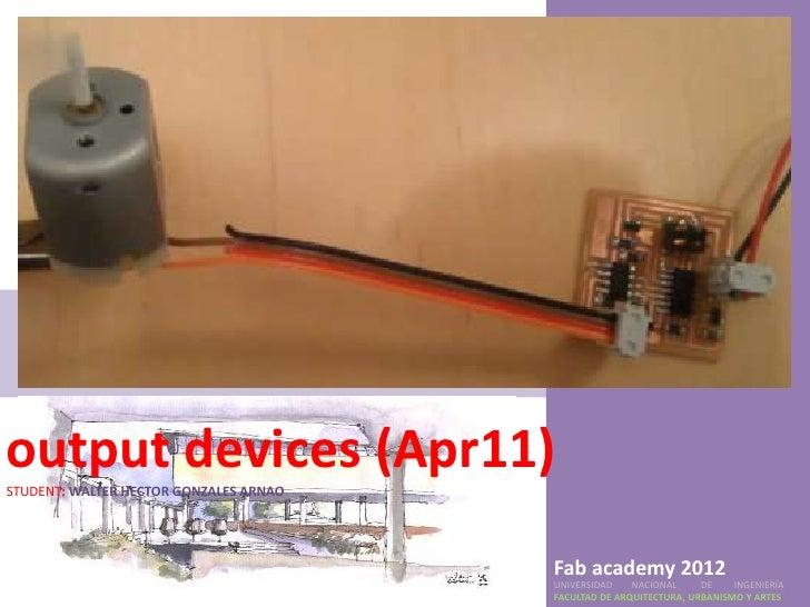Output devices(apr11)
