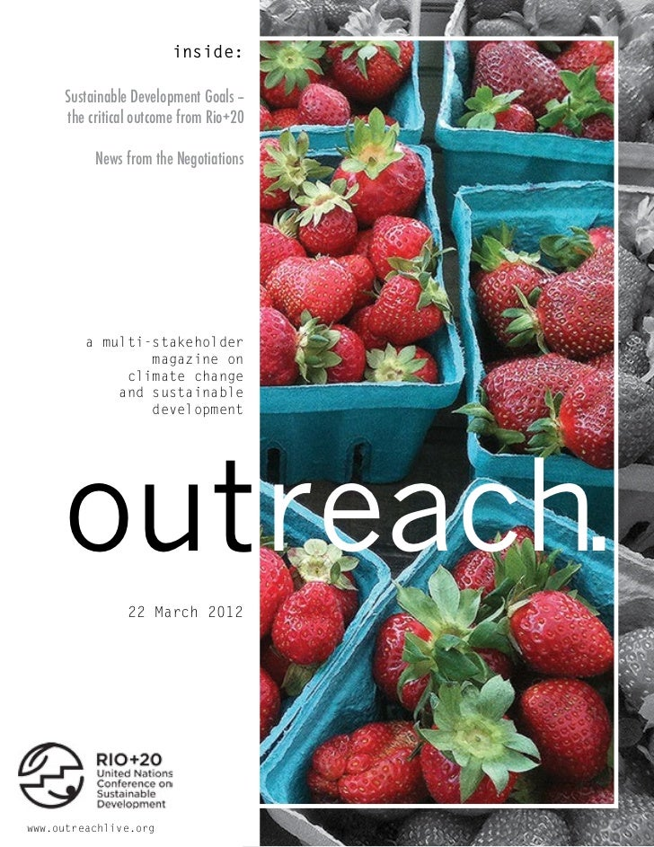 Outreach Magazine: Rio+20 March meetings - Day 4