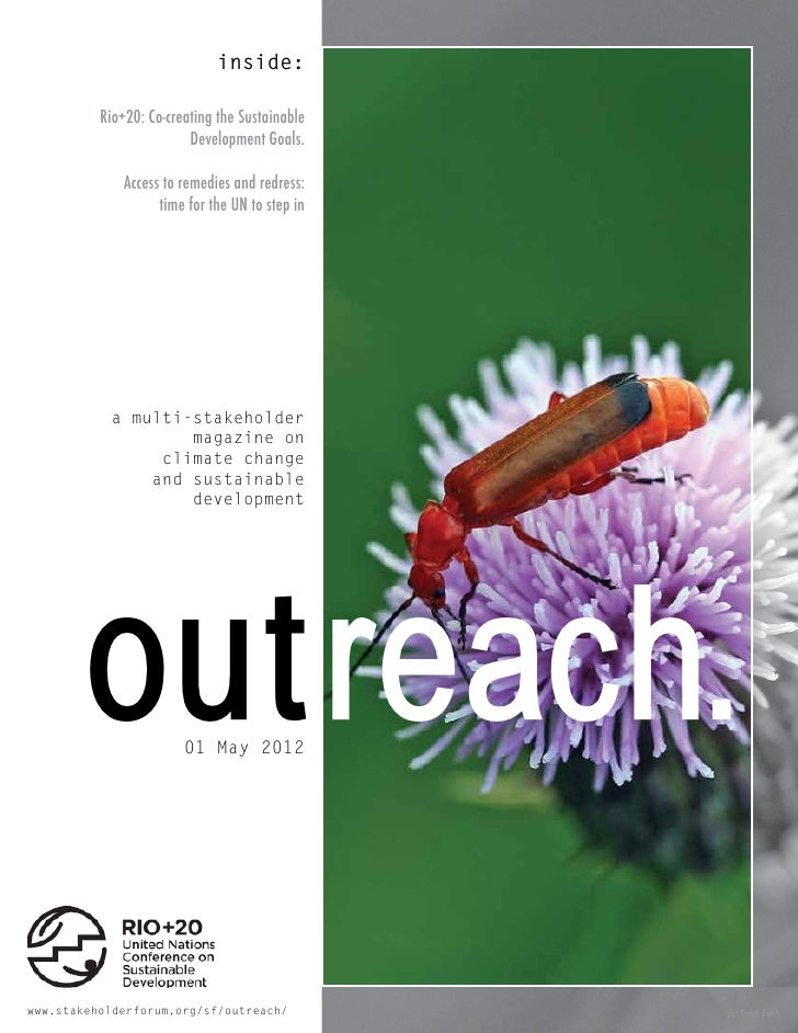 Outreach Magazine: April/May UN meetings day 7