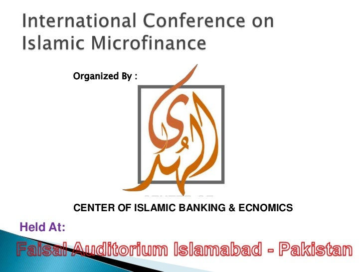 Out reach of islamic microfinance by dr shabir hussain