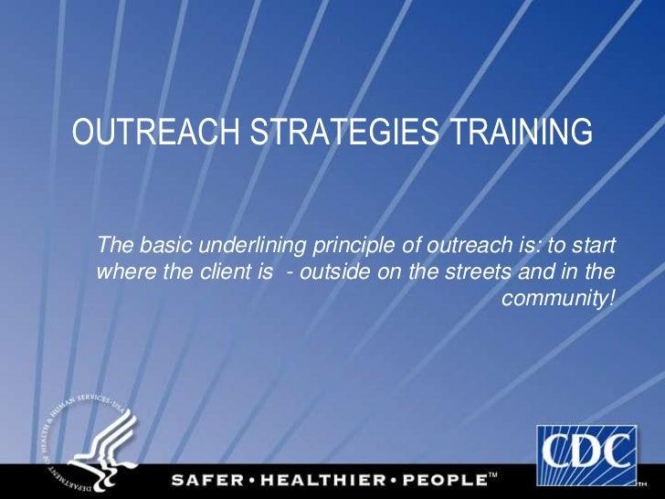 Outreach overviewpresentation